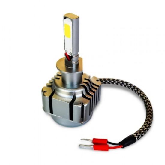 2pcs H1 40W 4000LM COB Car Vehicle LED Headlight