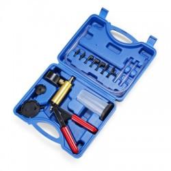 Brake Fluid Bleeder Vacuum Pistol Pump Manual Hand Held Tester Kit