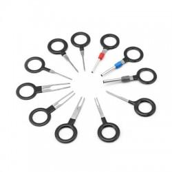 ZIQIAO 11Pcs Car Automotive Plug Terminal Pick Removal Repair Tool